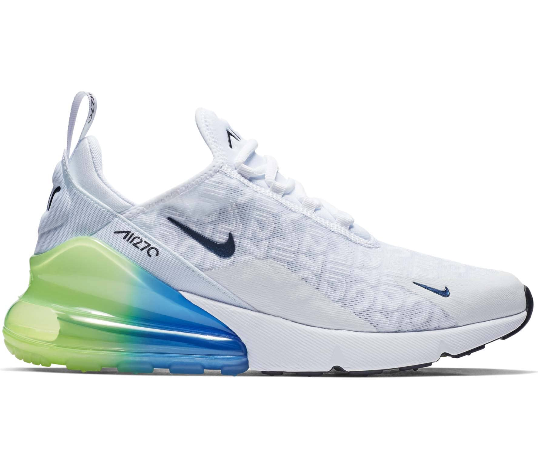 nike air max 270 heren wit