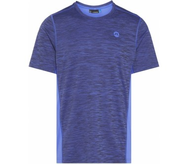 J.Lindeberg - Curved Melange men's running top (blue)