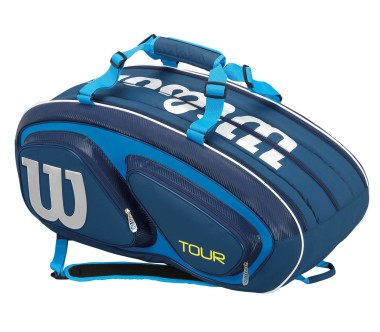 Wilson - Tour V 15Pk Bag tennis bag (blue/light blue)