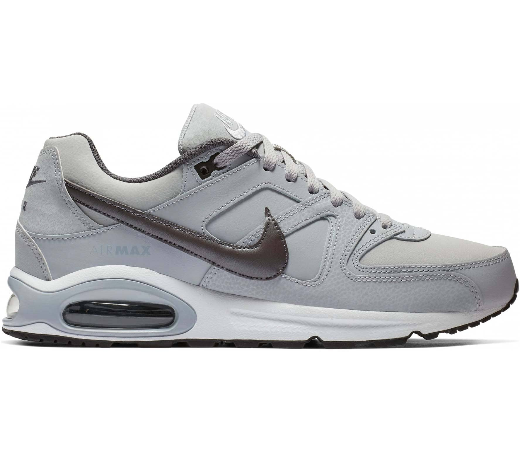 Herren Nike Air Max Command Leather Sneaker Schwarz