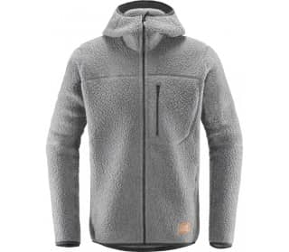 Pile Hood Men Fleece Jacket