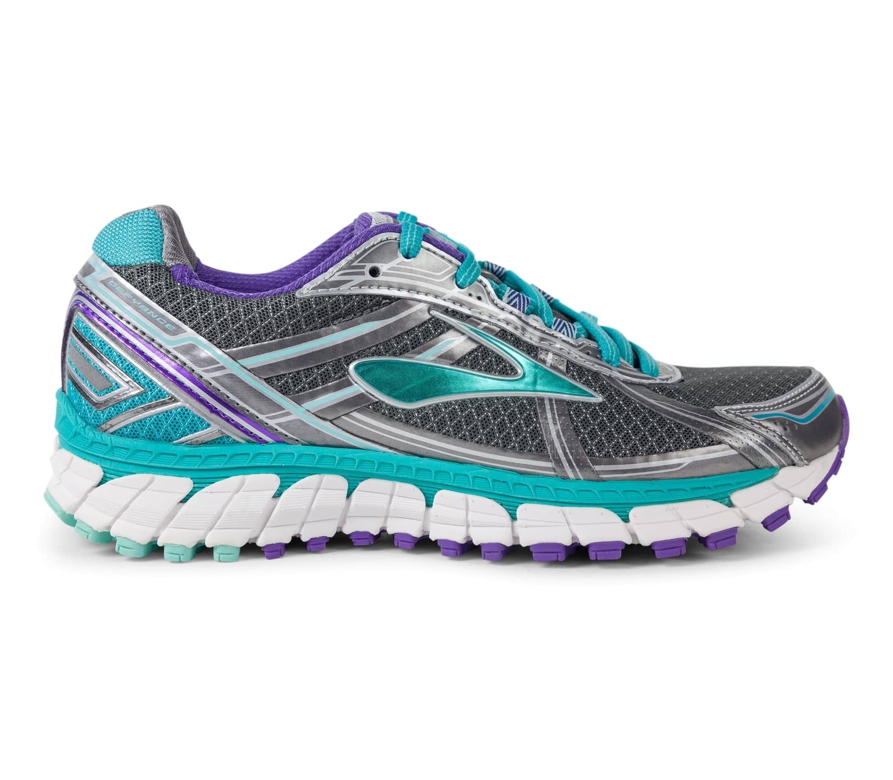 817e0f5efed Brooks - Defyance 9 women s running shoes (grey blue) - buy it at ...