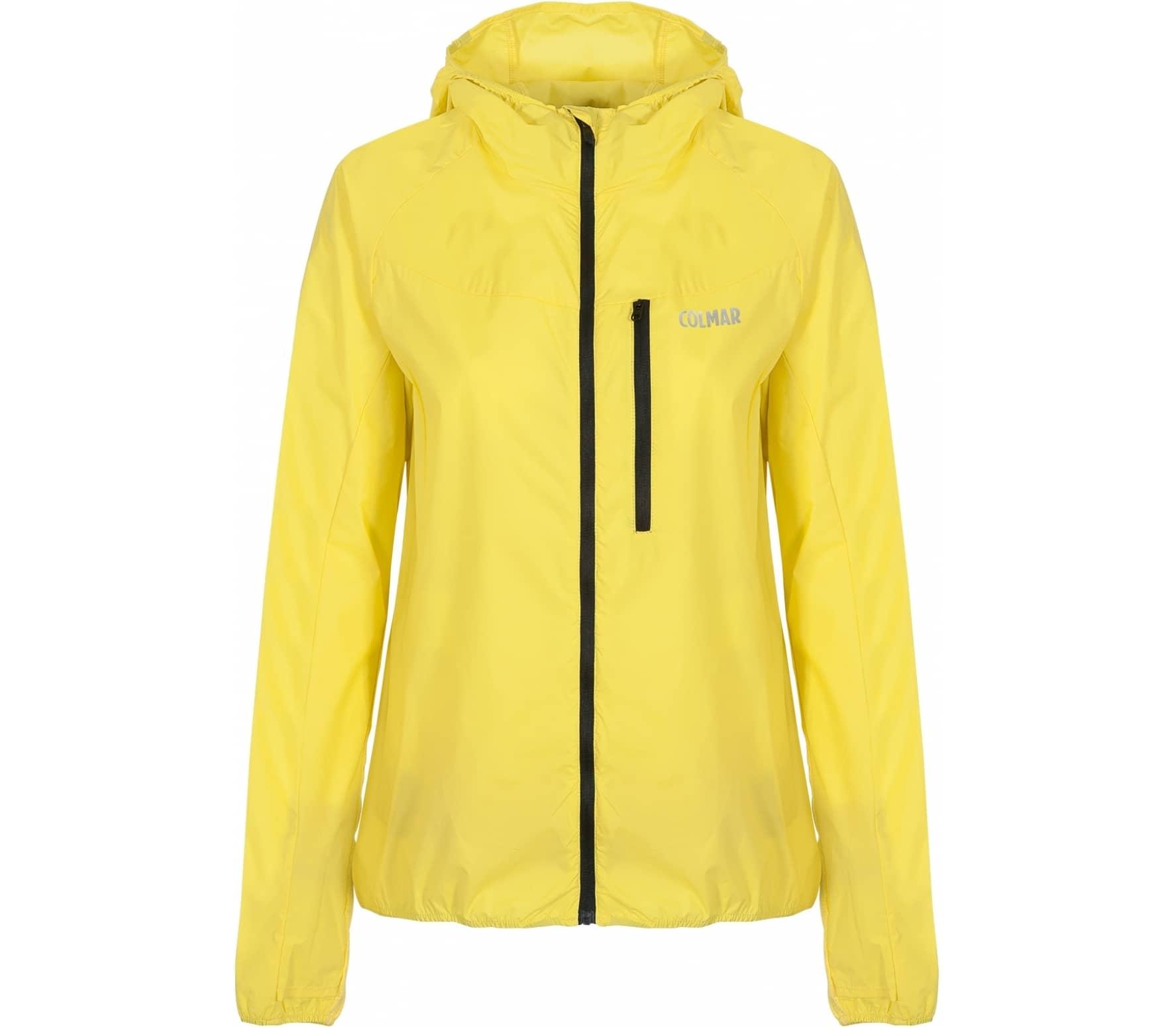 Colmar - Rockwind women's outdoor jacket (neon yellow)