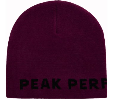 Peak Performance PP  Mütze Unisex rouge