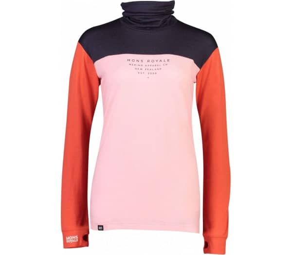 MONS ROYALE Yotei BF High Neck Women Functional Top - 1