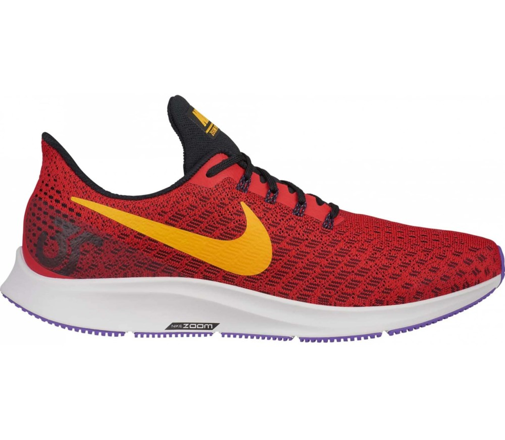 nike air zoom pegasus 35 heren ren schoen rood online. Black Bedroom Furniture Sets. Home Design Ideas