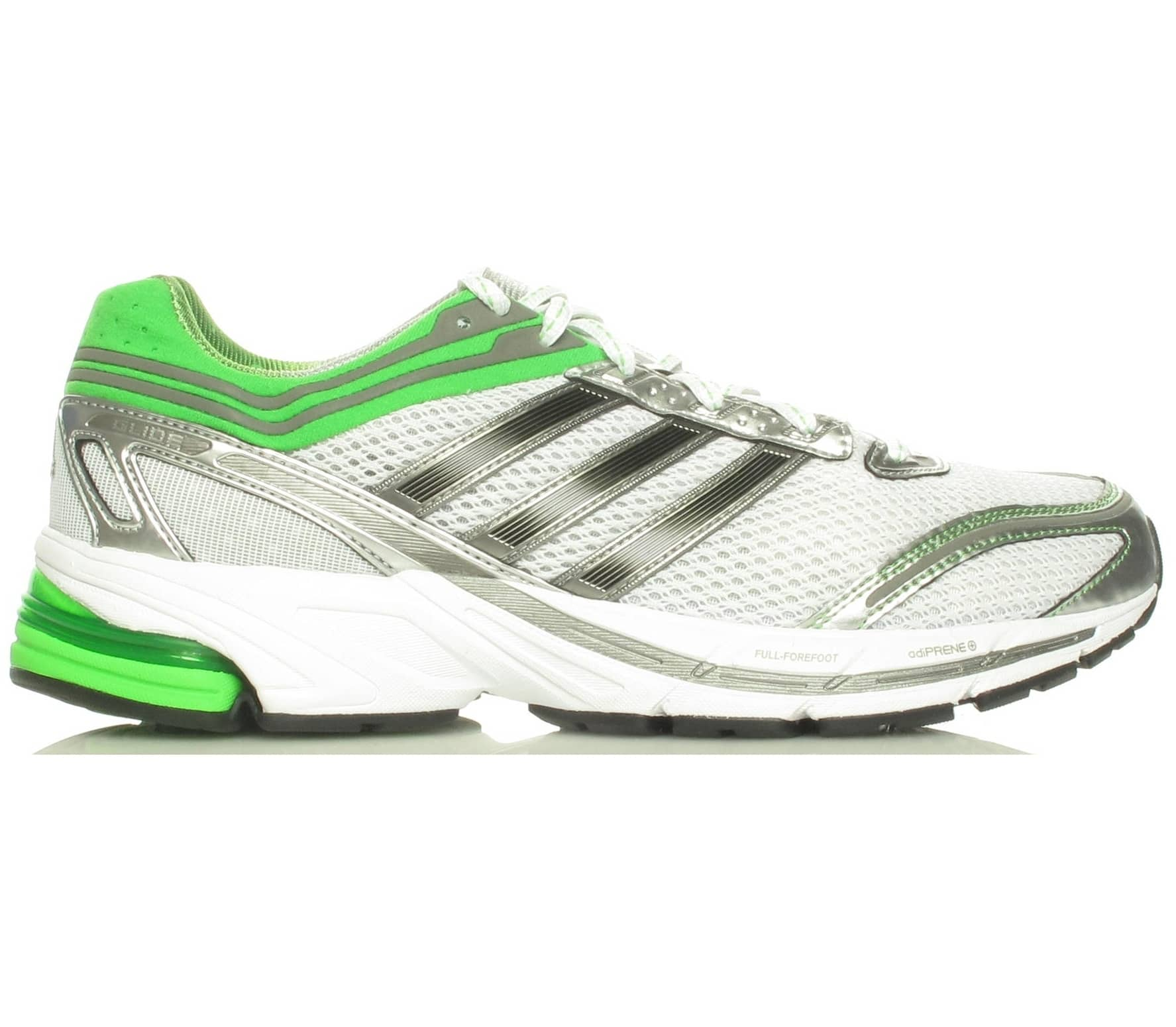 14f65f455 Adidas SNova Glide 3 M white green Running Shoes - buy it at the ...