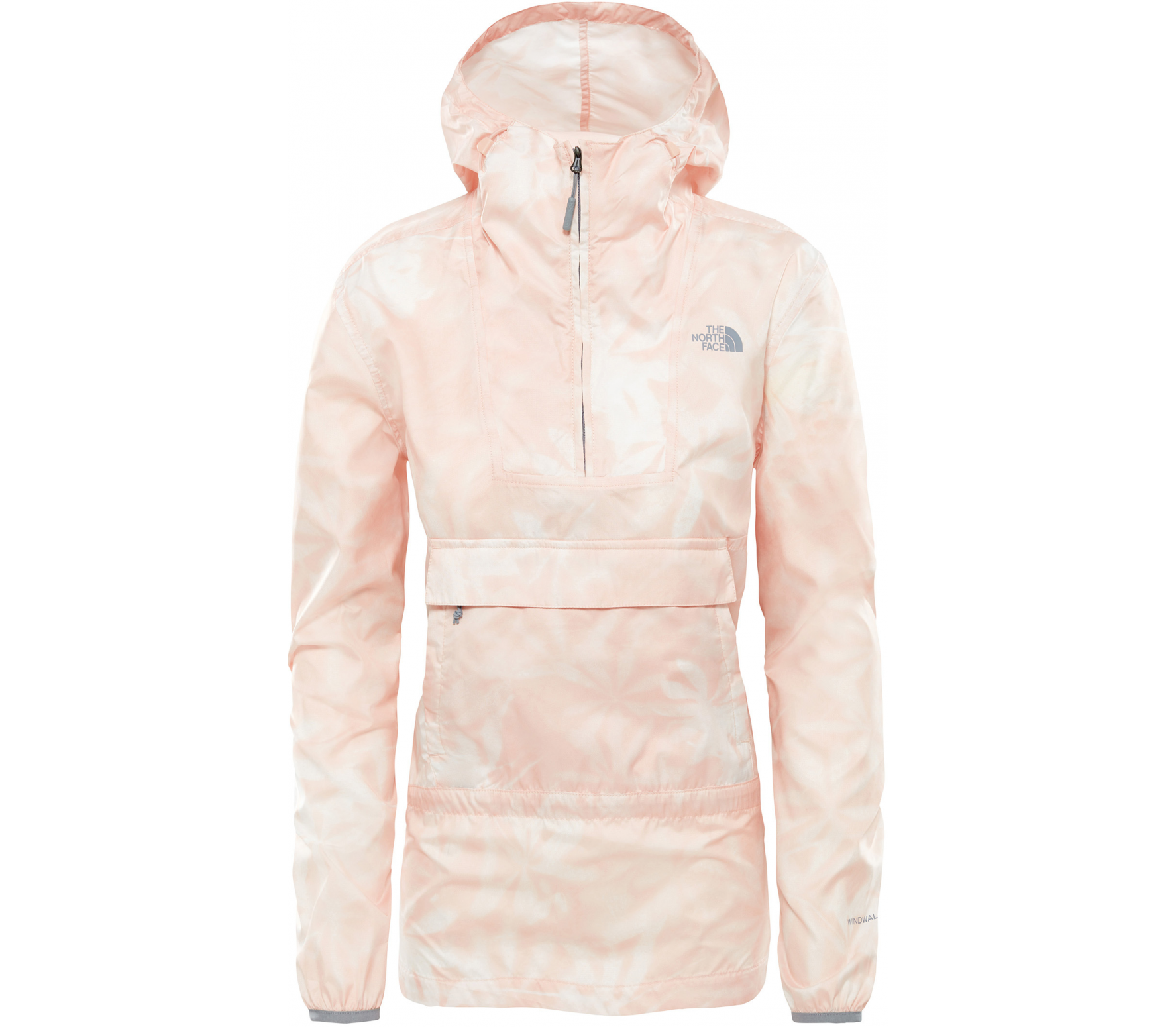 88c4964c66 The North Face - Fanorak veste coupe-vent pour femmes (corail ...