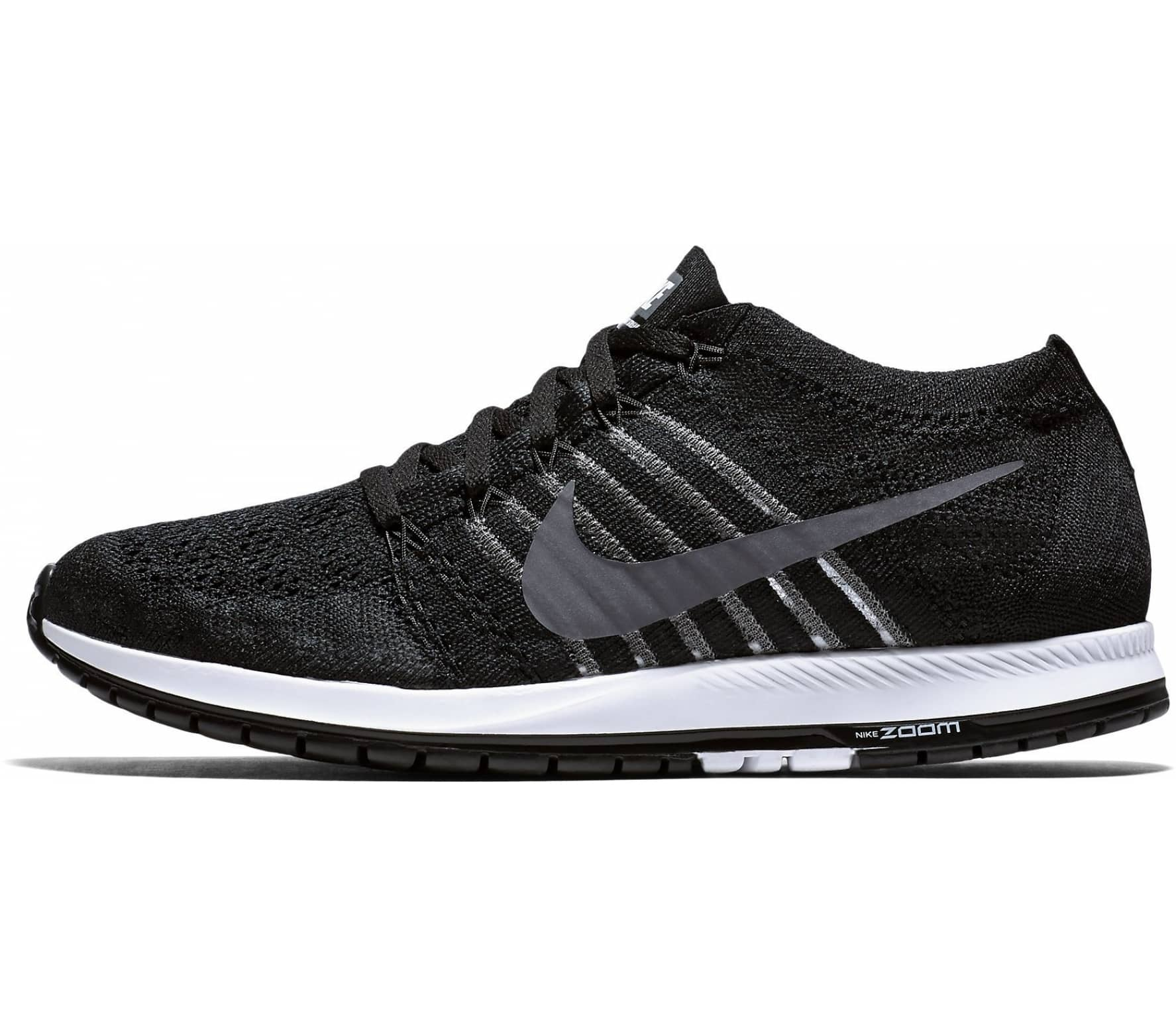 75b491ca03e Nike - Air Zoom Flyknit Streak 6 men s running shoes (black white ...