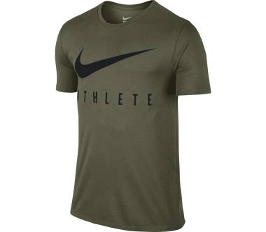 Nike - Dry Athlete men's training top (dark green)