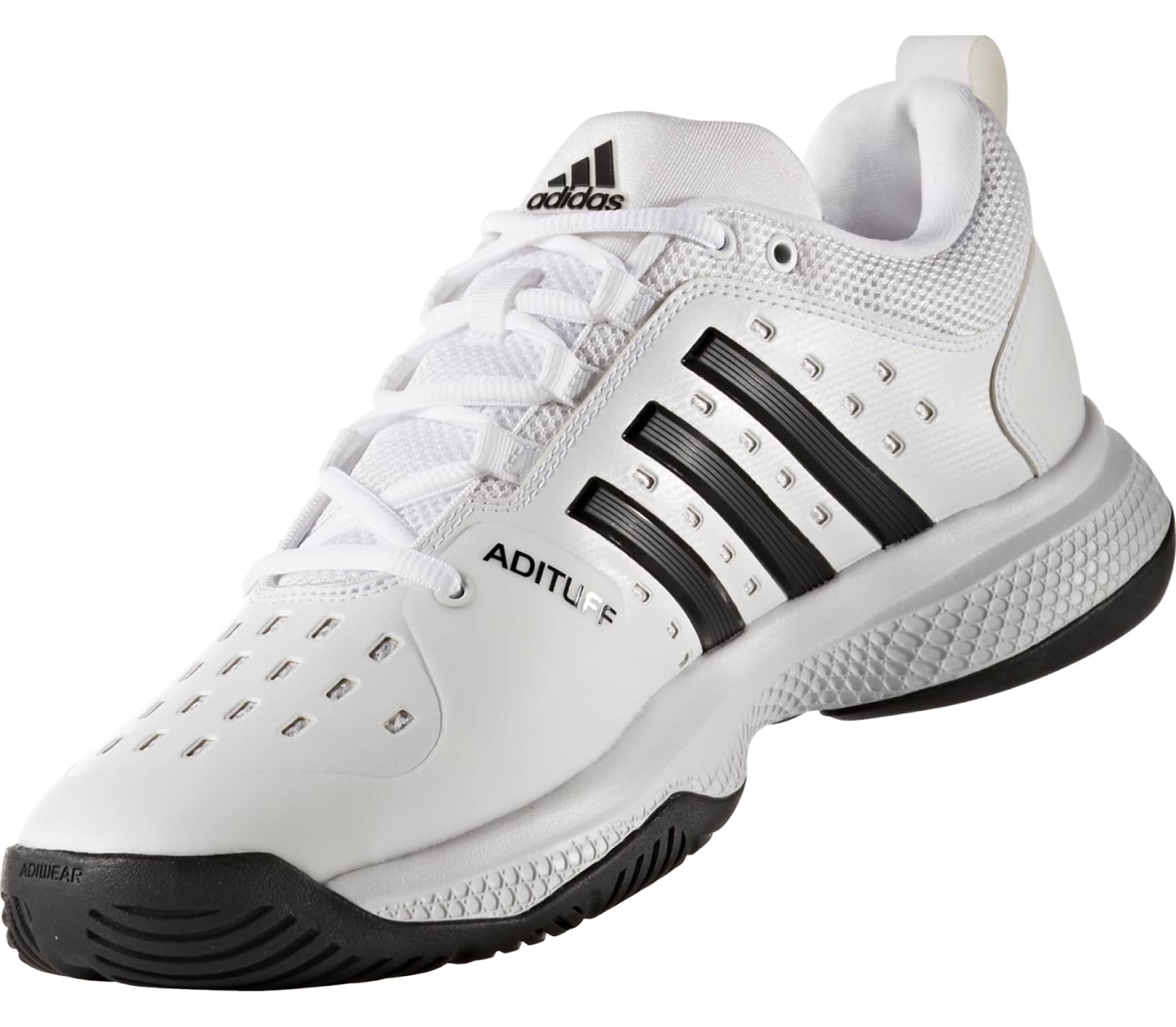 new product e28e8 b1411 Adidas - Barricade Classic Bounce Synthetic mens tennis shoes (whiteblack)