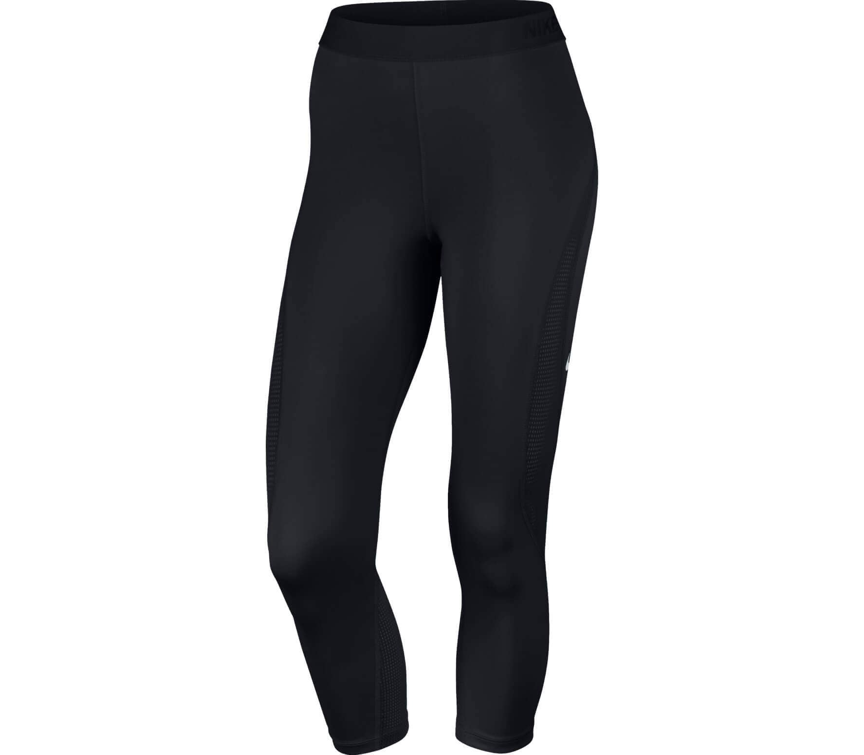 8f5dadf91211 Nike - Pro Hypercool women s training capri pants pants (black ...