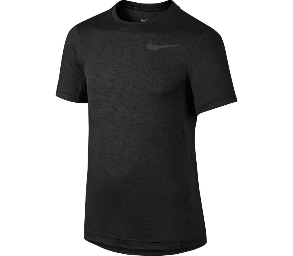 Nike Dri-Fit Jersey Junior Laufshirt Children black