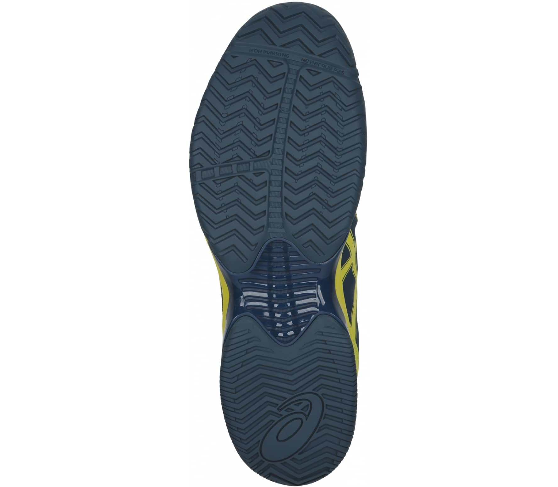 b053638e3f057 ASICS - Gel-Court Speed Clay men s tennis shoes (dark blue yellow ...