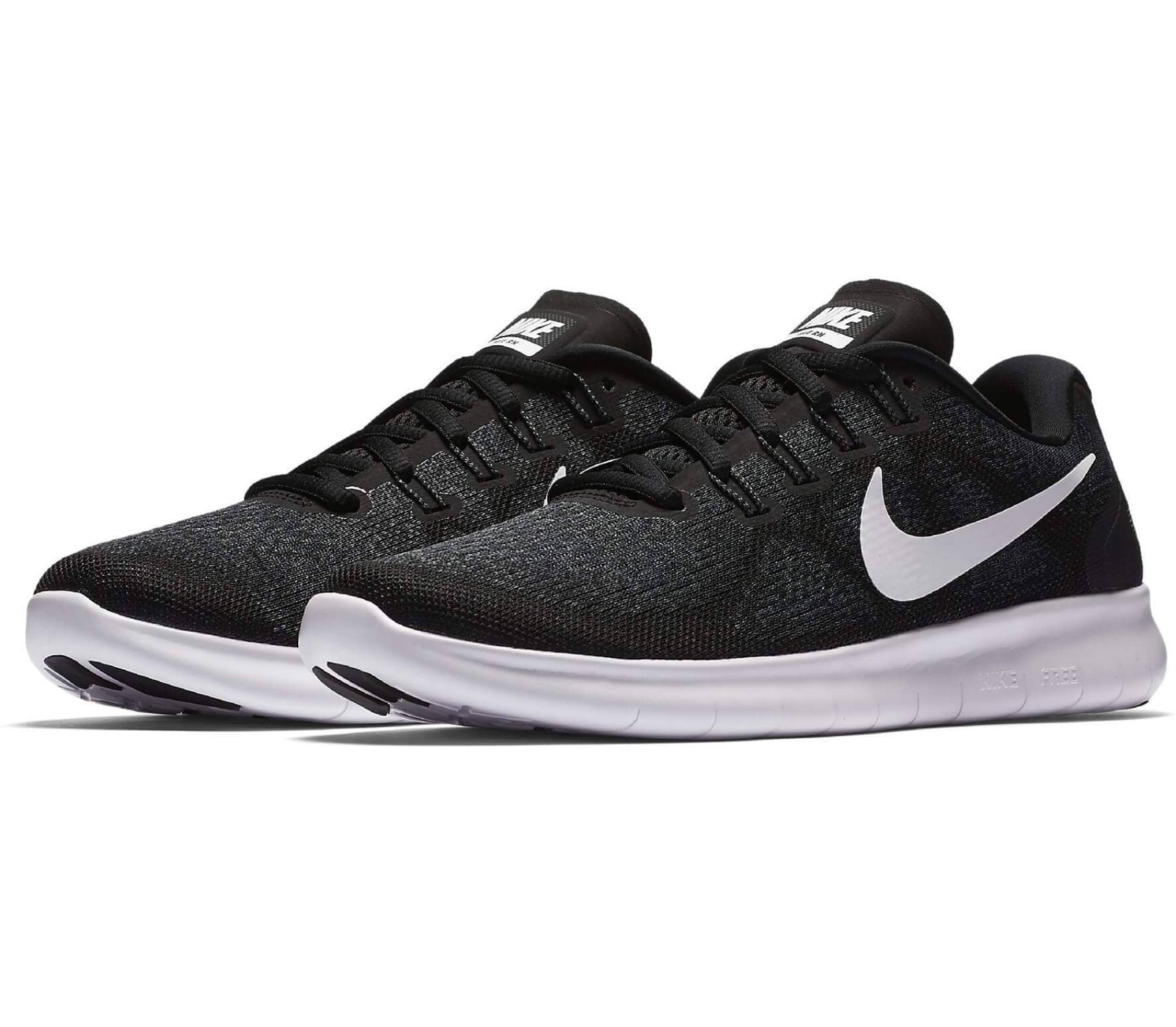 official photos b5ca4 a9d84 Nike - Free RN 2 women s running shoes (black white)