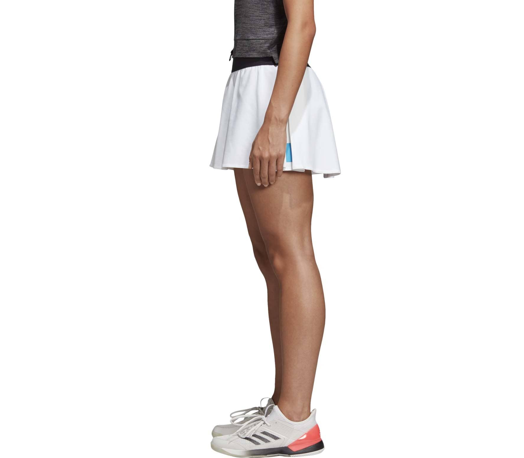 adidas Escouade women's tennis skirt Damen Tennisrock weiß
