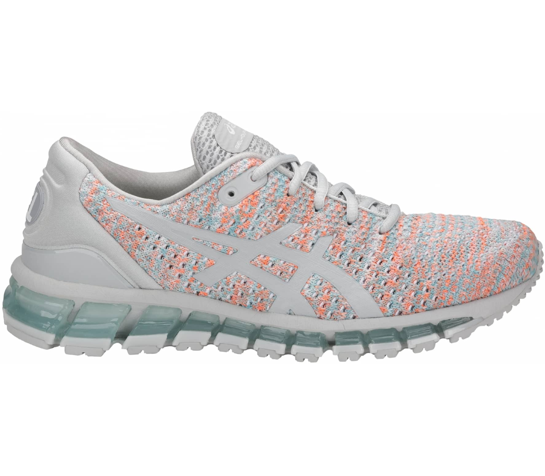 ASICS - Gel-Quantum 360 Knit 2 women s running shoes (grey orange ... 50aeff8310