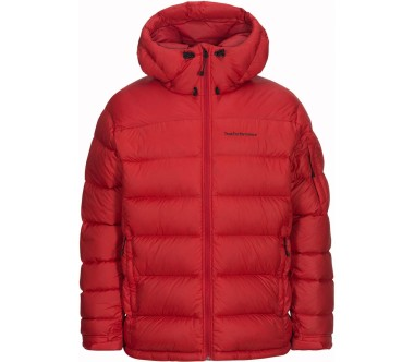 Peak Performance - Frost men's down jacket (red)