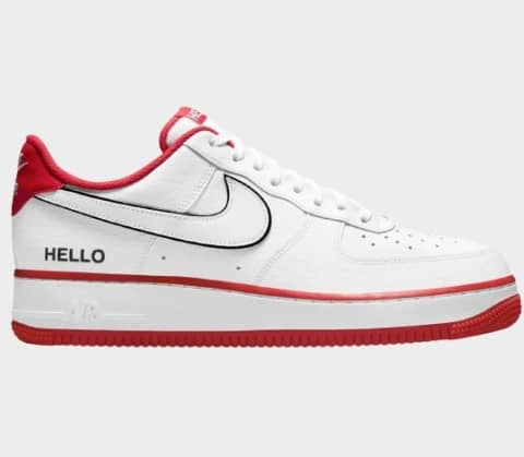 Air Force 1 '07 LX 'Hello My Name is' Shoes