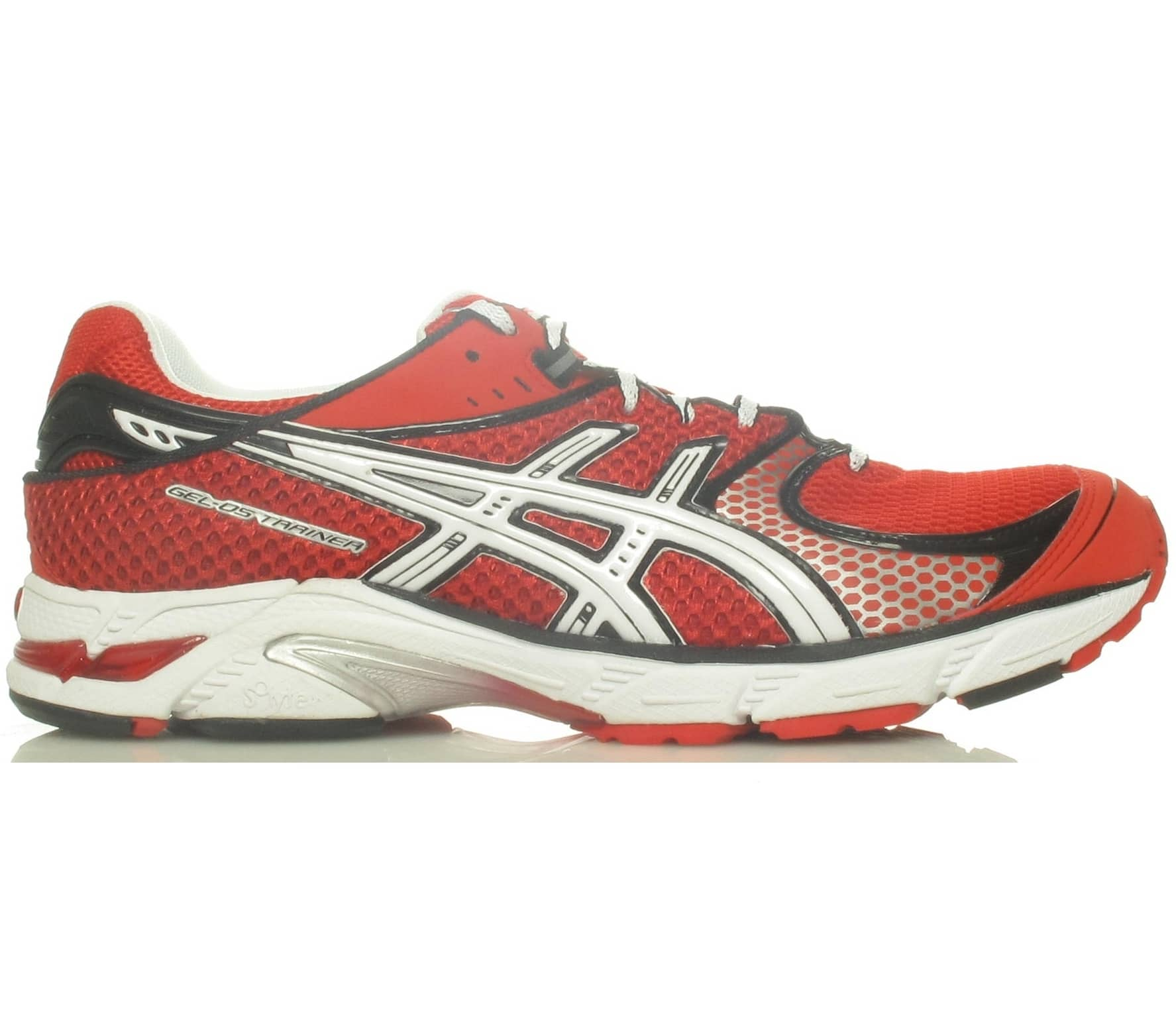 sports shoes 9a506 1663c ASICS Gel-DS Trainer 16 red Running Shoes Men