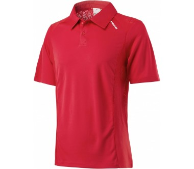 Head - Performance men's tennis polo top (red)