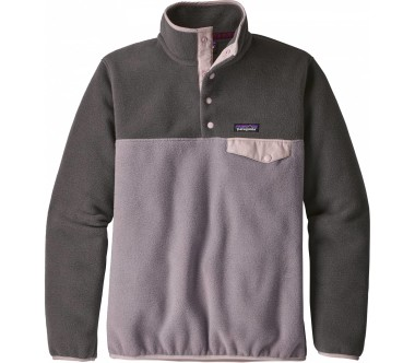 Patagonia - Lightweight Synchilla Snap-T women's fleece pullover (purple)