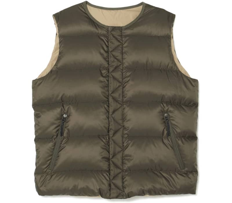 Reversible Men Down Gilet