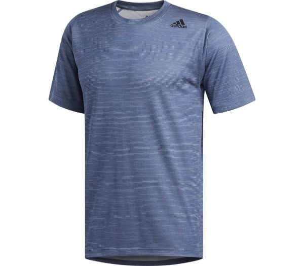 ADIDAS FreeLift Tech Fitted Striped Heathered Men Training Top - 1