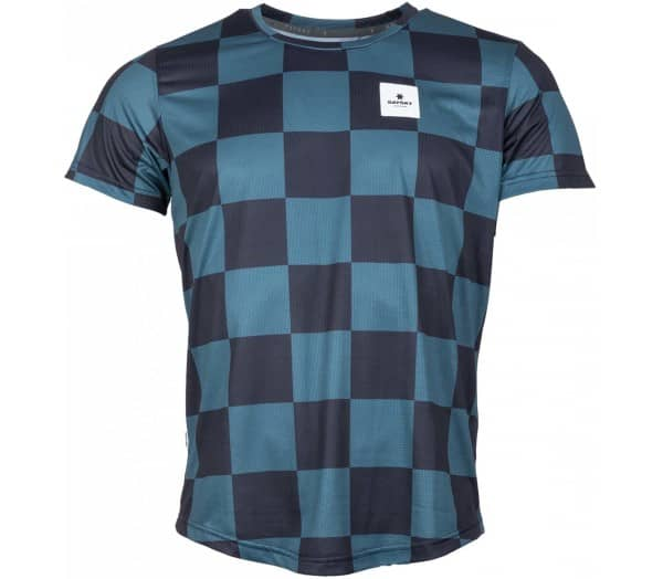 SAYSKY Checker Combat Women Running Top - 1