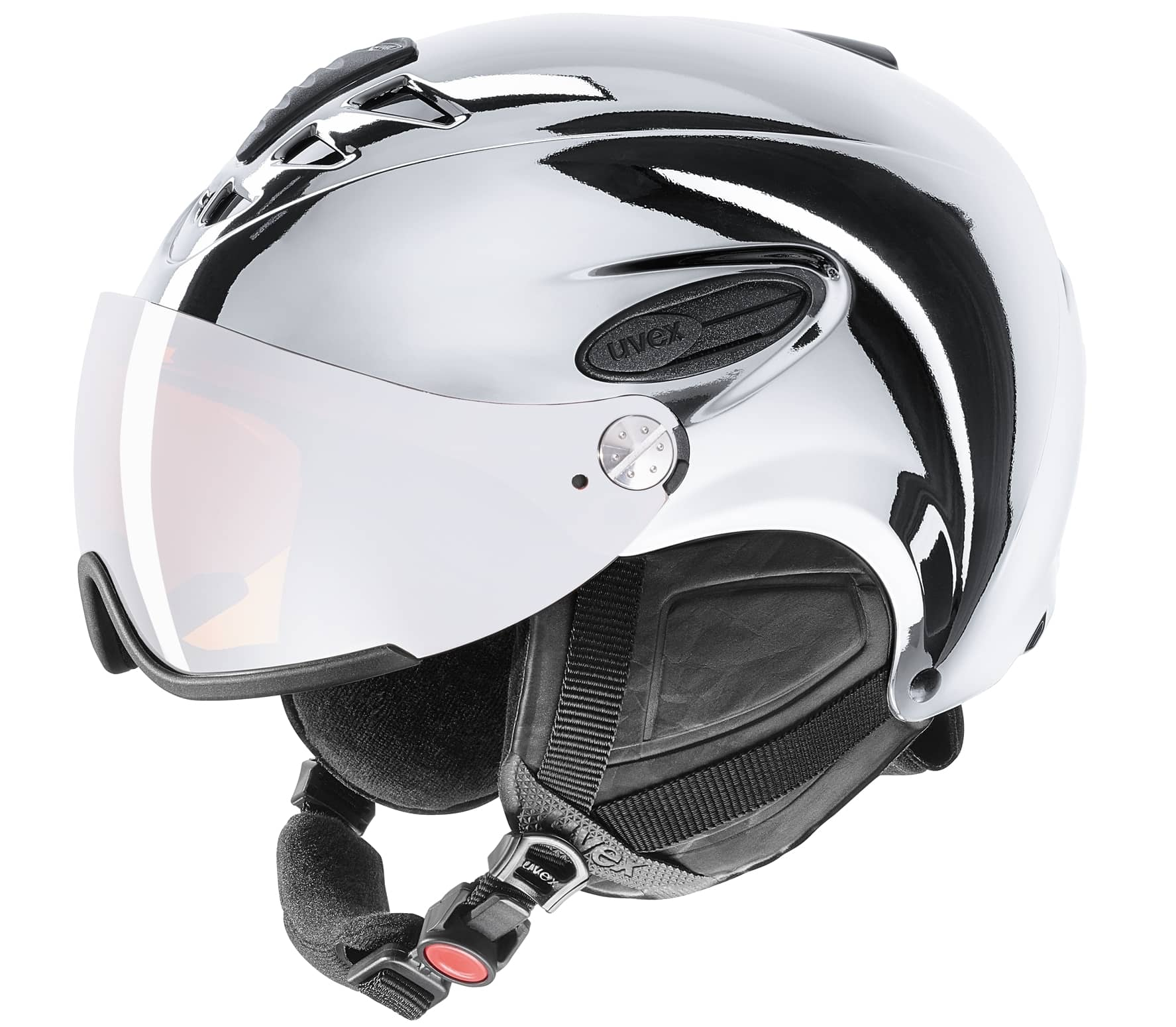 Uvex - Hlmt 300 chrome LTD Skihelm (silber) - 6...