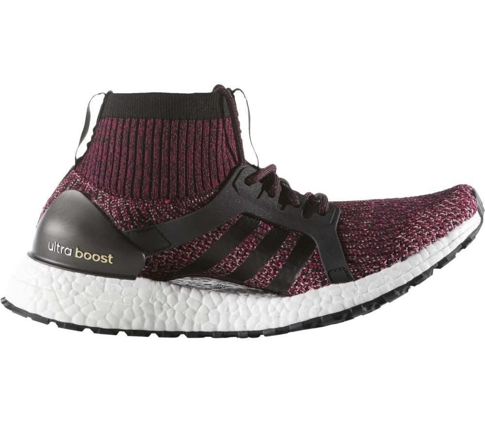 319fb27a2 Adidas - Ultra Boost X ATR women s running shoes (dark red black ...