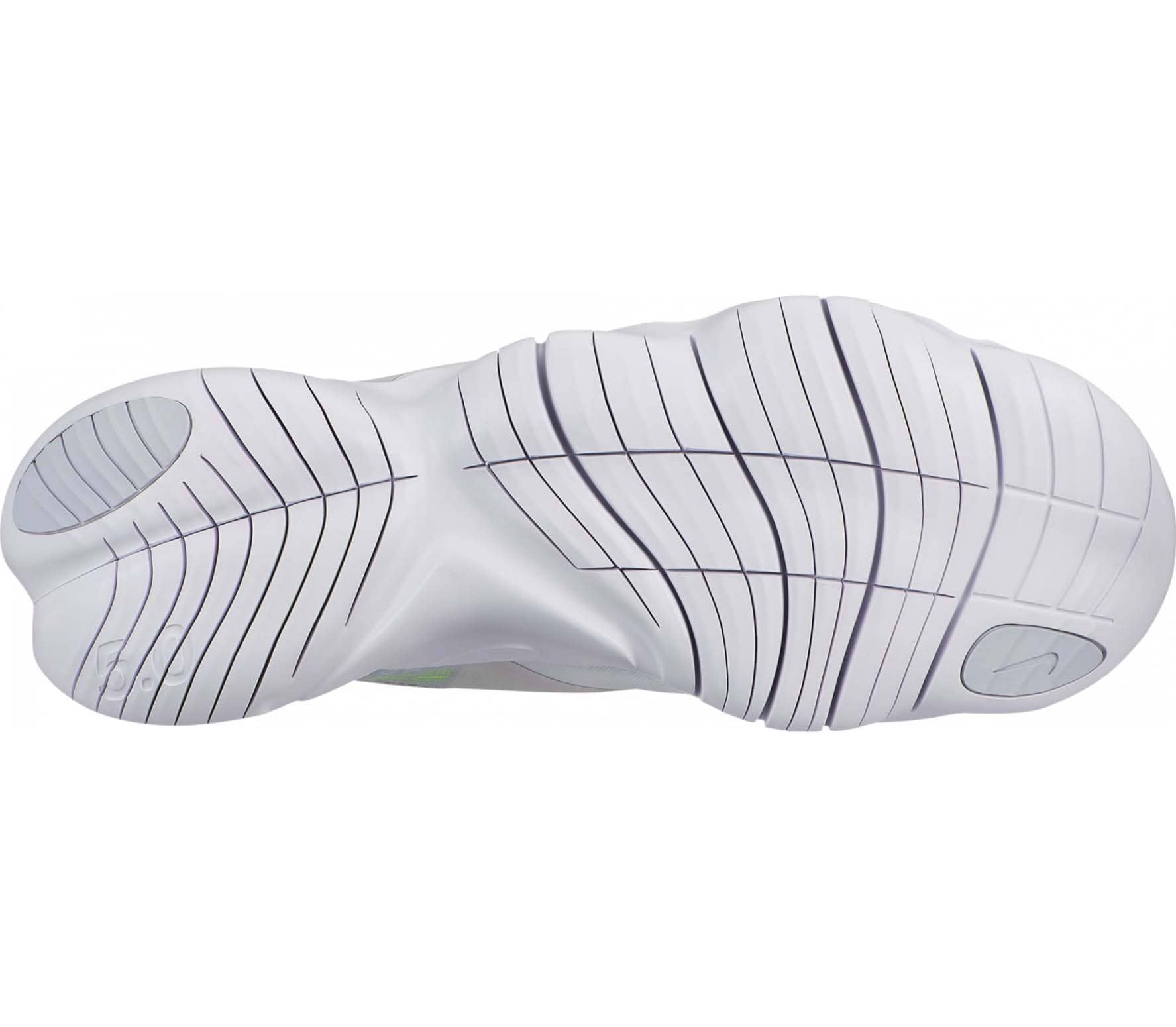 Nike Free RN 5.0 Hommes Chaussures running  blanc