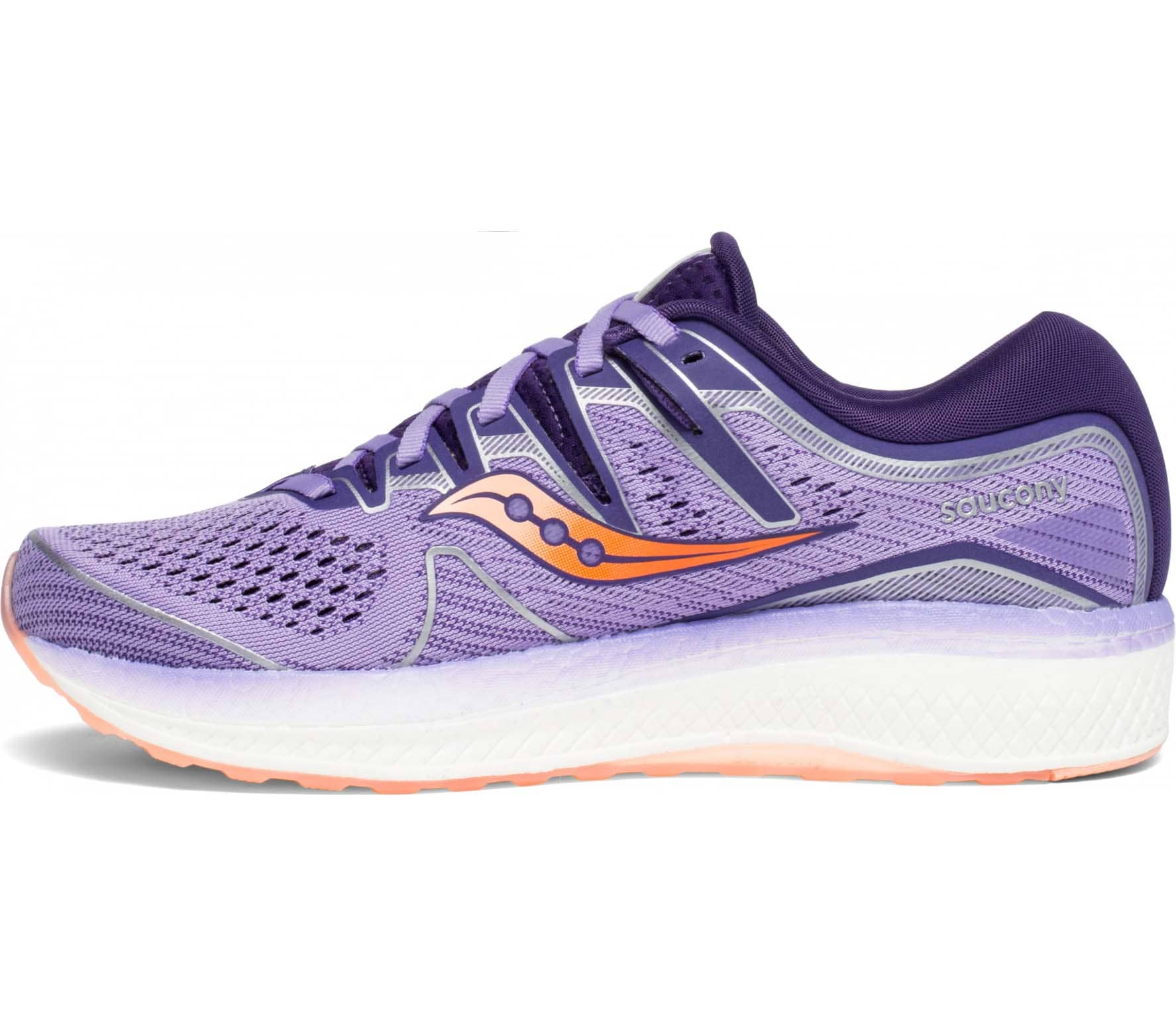 Saucony Triumph Iso 5 Women Running Shoes  purple