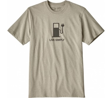 Patagonia - Live Simply Power Responsibili men's top (brown)