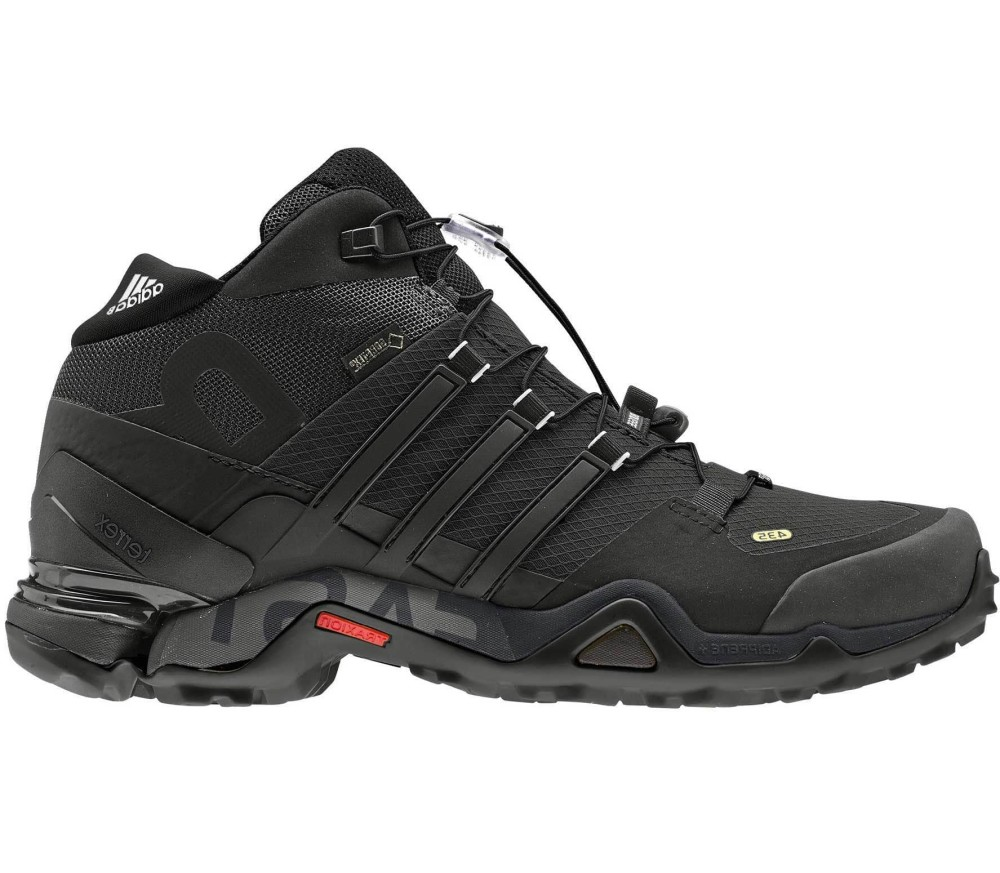 sports shoes 3a92d 8fa48 Adidas - Terrex Fast R Mid GTX Uomo Trekkingsschuh (nero)