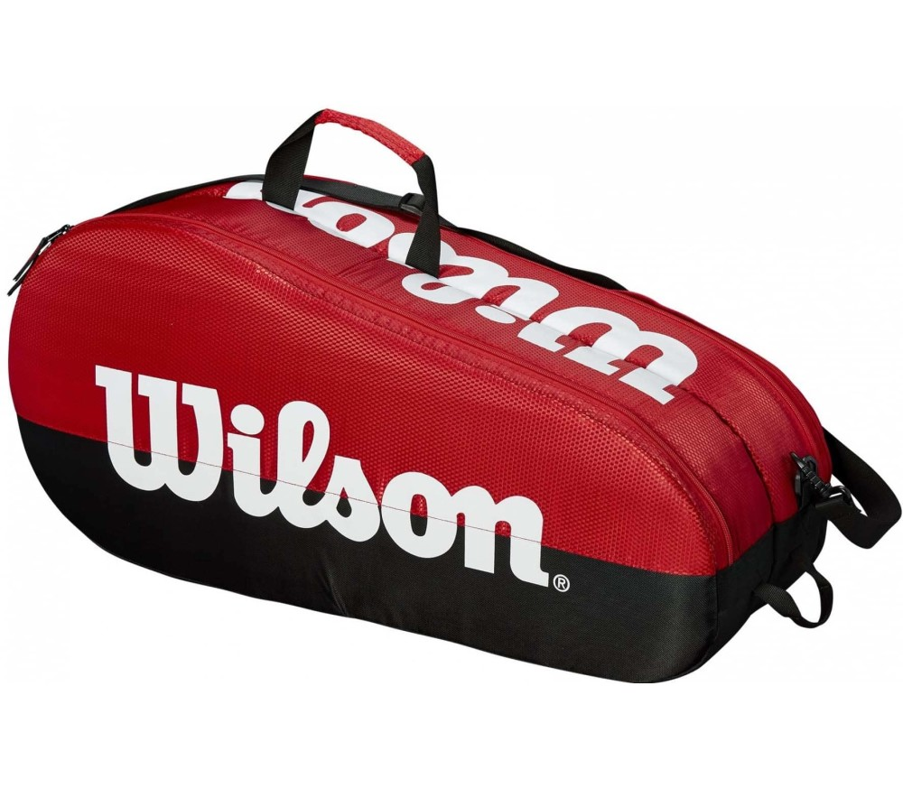 Wilson - Team 2 Comp tennis bag (black/red)