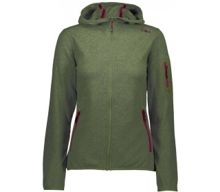 CMP Strick Hoodie Donna Giacca in pile
