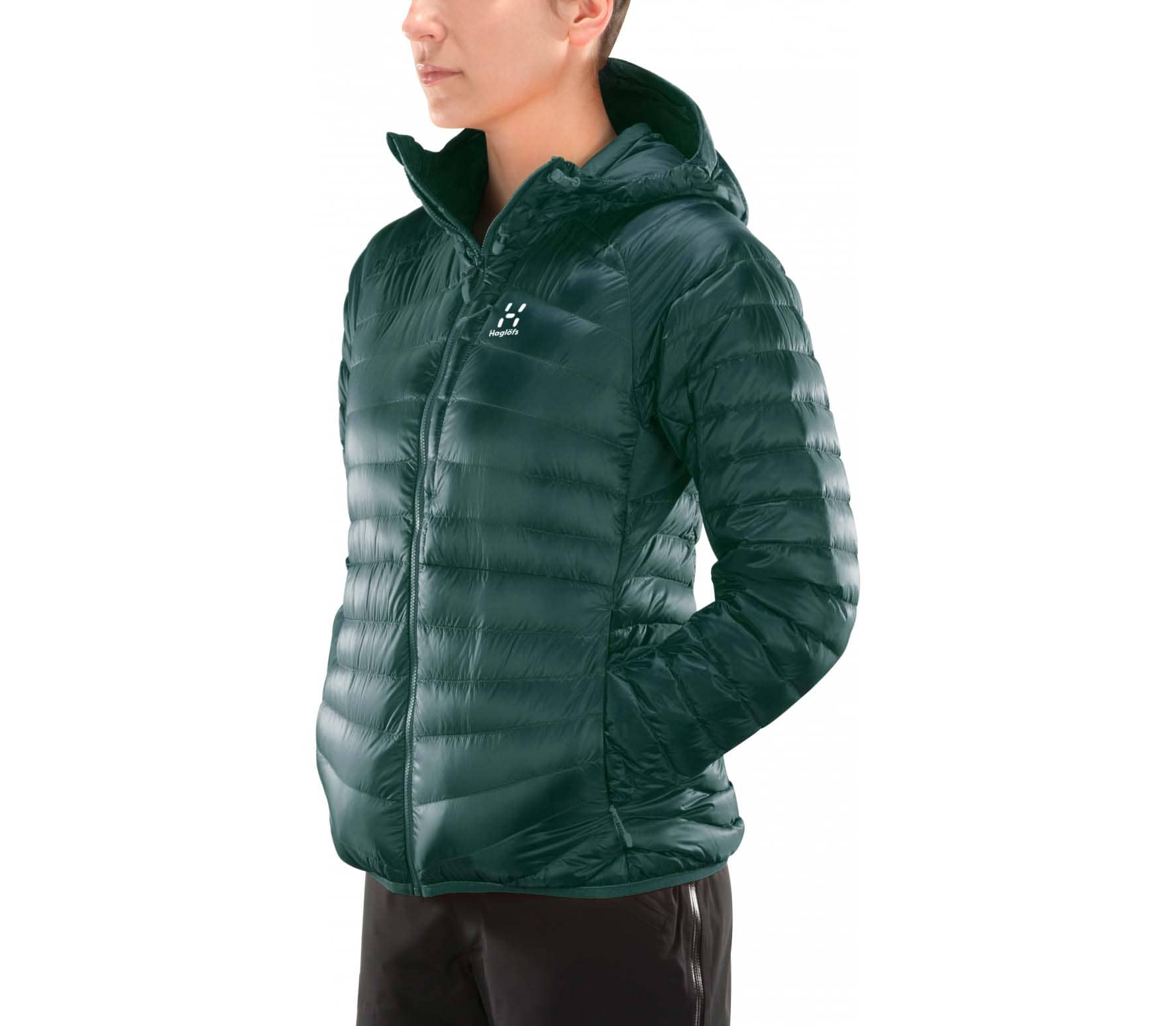 a7c4320f1849 Haglöfs - Essens Down Damen Isolationsjacke (grün) im Online Shop ...