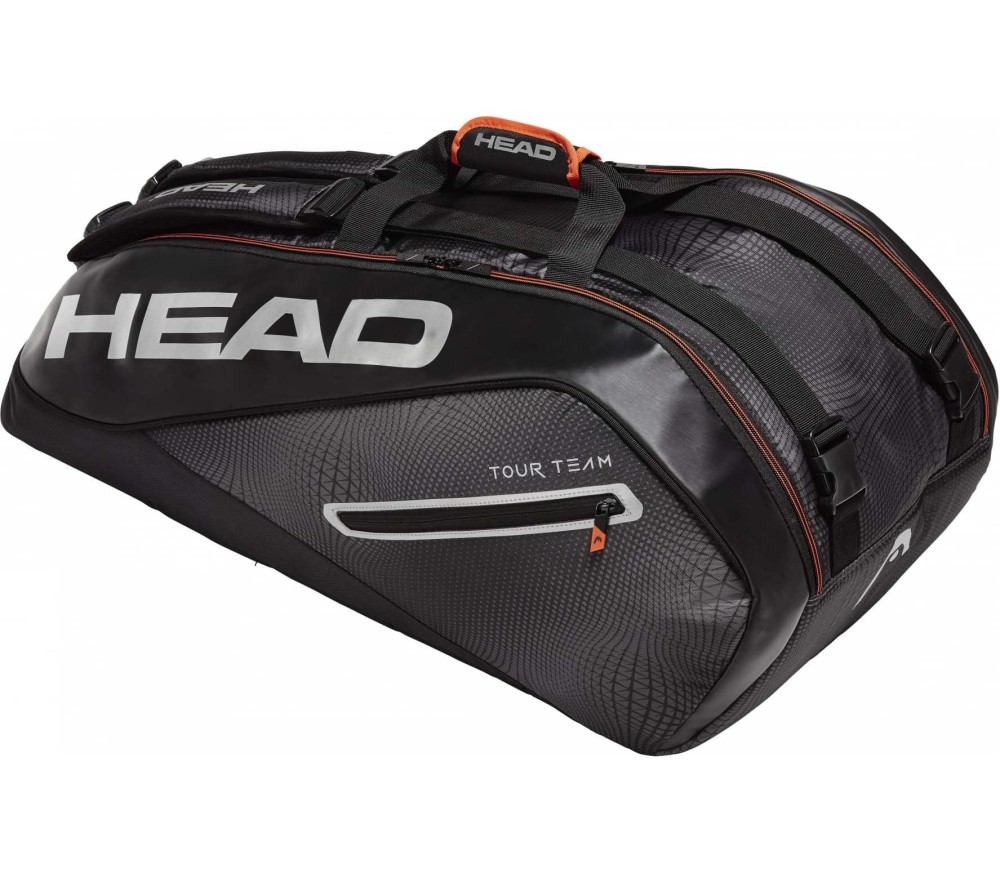 Head Tour Team 9R Supercombi Tennistasche black