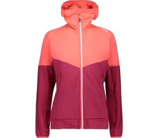 CMP Fix Hood Dames Fleece Jas
