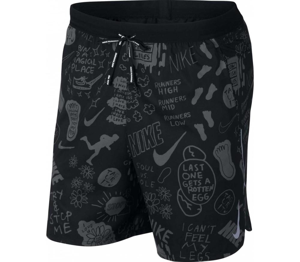 Nike - Flex Stride 7 inch Herren Laufshort (schwarz)