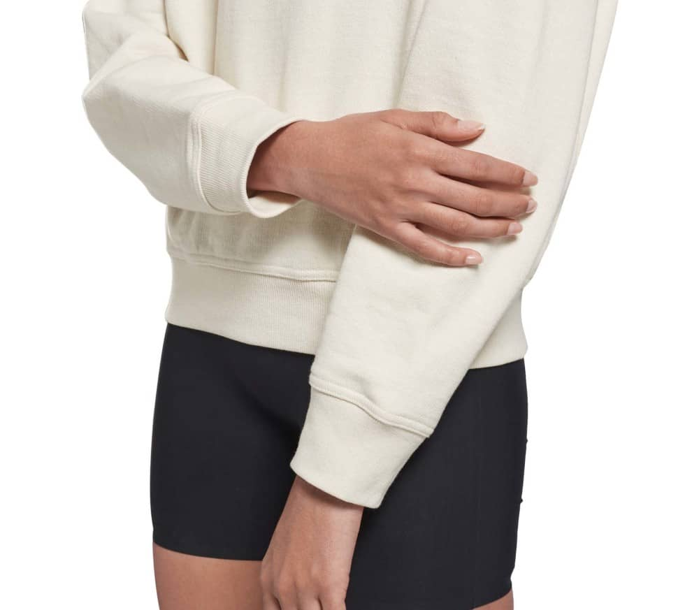 Cropped Cowl Damen Sweatshirt