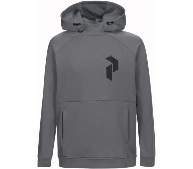 Peak Performance - Pulse men's functional hoodie (grey)