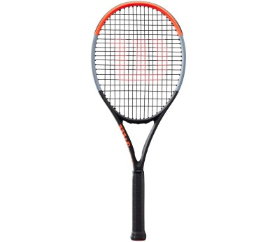 Wilson - Clash 100 tennisketsjer (hvid/sort)