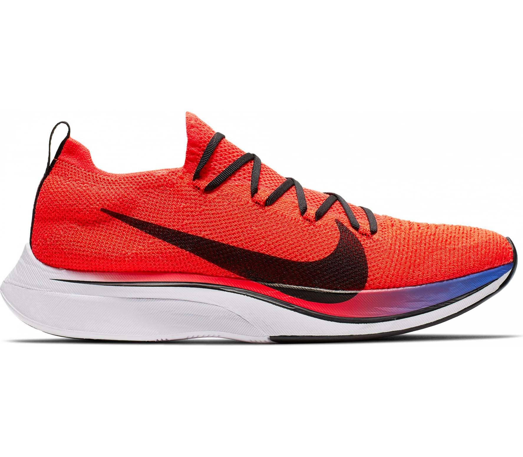 Nike Vaporfly 4% Flyknit Unisex Chaussures running  rouge