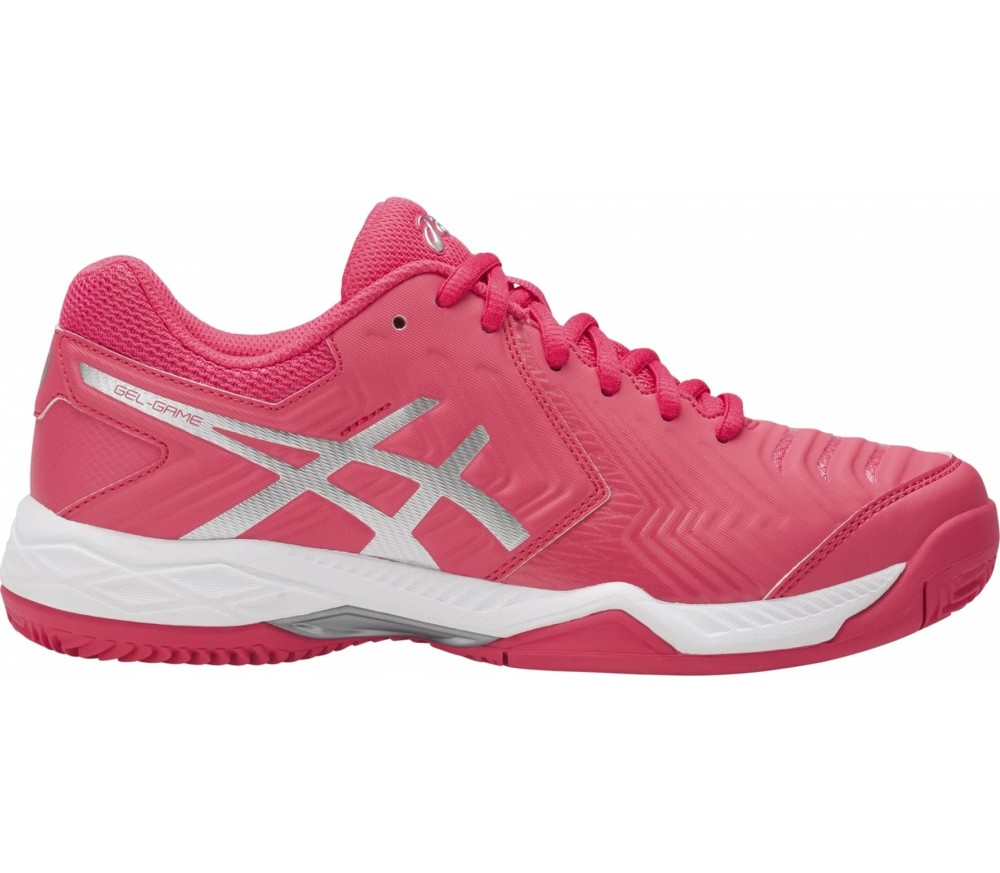 best service 84c8a a5afa ASICS - Gel-Game 6 Clay women s tennis shoes (pink)