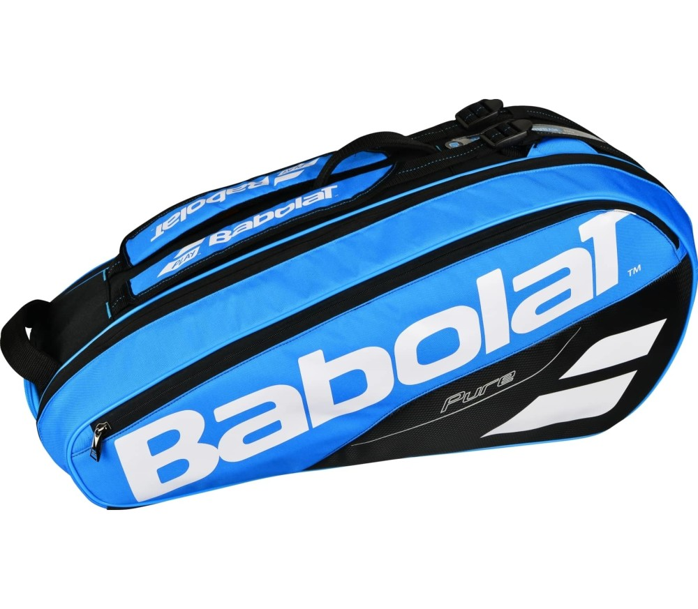 Babolat - Pure Racket Holder X6 Tennistasche (blau/weiß)