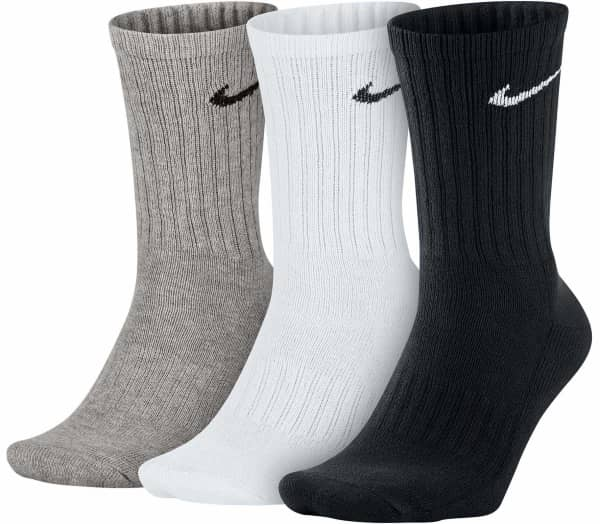 NIKE Value Cotton Crew Trainingssocken Men Socks - 1