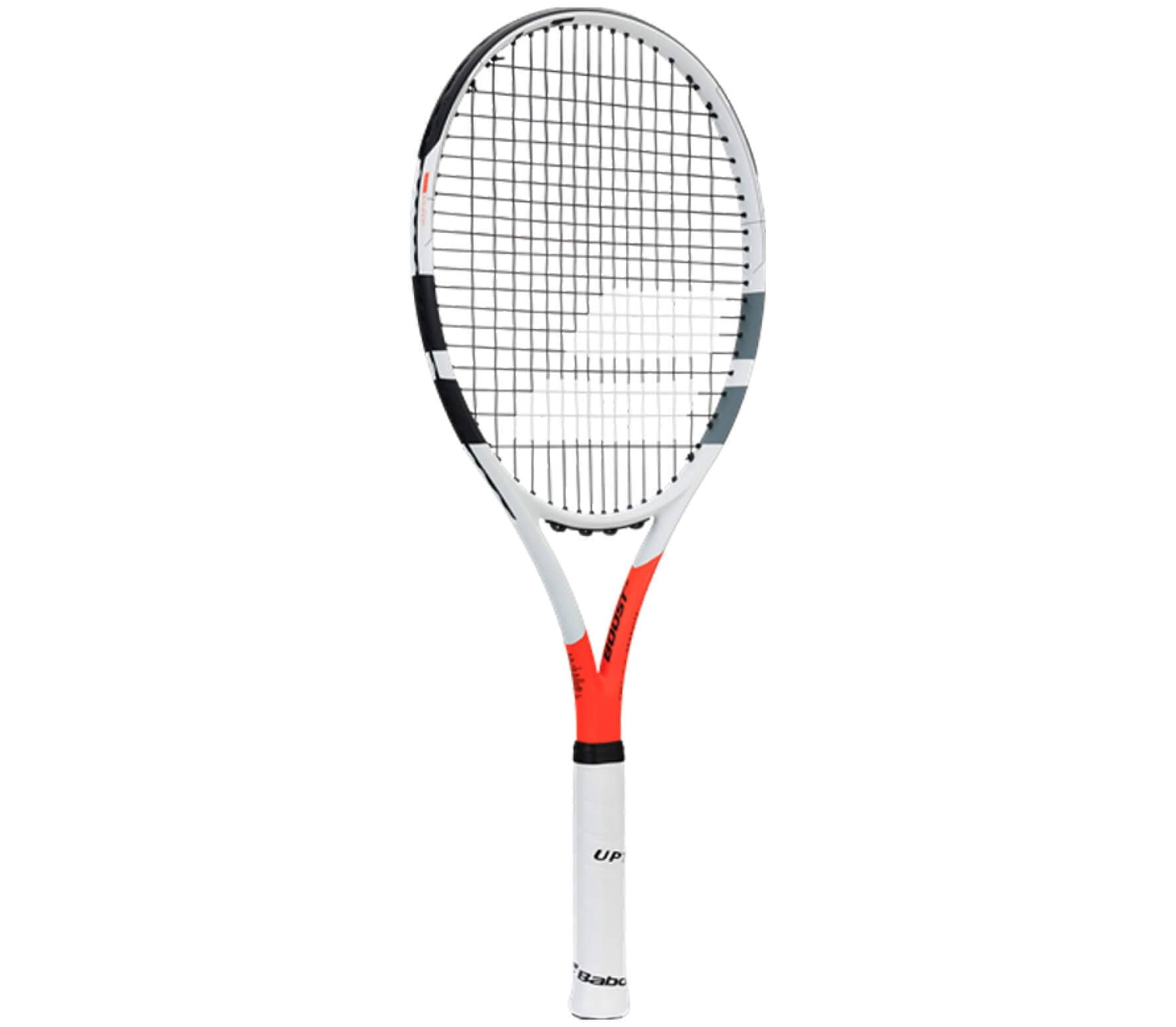 Babolat - Boost Strike strung tennis racket (white/red)
