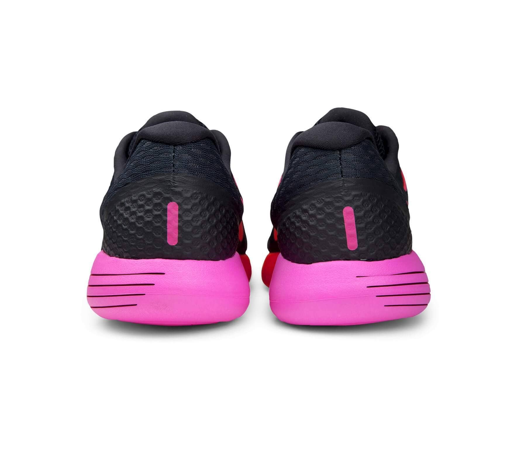 the latest 33aad 6bcf9 Nike - LunarGlide 8 women s running shoes (black pink)